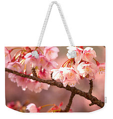 Early Cherry Blossoms Weekender Tote Bag