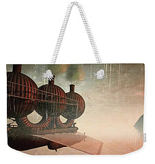 Early Departure - A Piece Of Work From Weekender Tote Bag