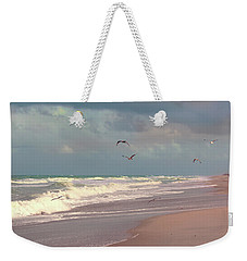 Weekender Tote Bag featuring the photograph Early Evening by Megan Dirsa-DuBois