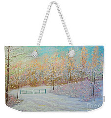 Early Evening Weekender Tote Bag by Rae  Smith PAC