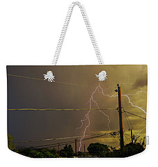 Early Evening Storm Weekender Tote Bag