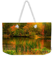 Early Fall Weekender Tote Bag