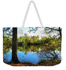 Early Fall Reflections Weekender Tote Bag