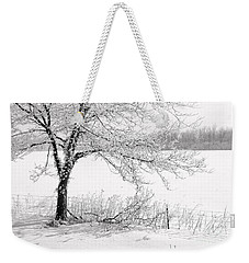 Early Frost Weekender Tote Bag