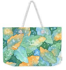 Early Frost Watercolor Weekender Tote Bag