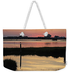 Early Light Of Day On The Bay Weekender Tote Bag