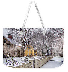 Early Massachusetts Weekender Tote Bag