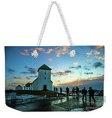Early Morn In Iceland Weekender Tote Bag