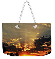 Early Morning Adrenaline Rush Weekender Tote Bag