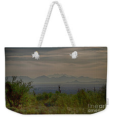 Early Morning Weekender Tote Bag by Anne Rodkin