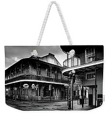 Early Morning At Cornet In Black And White Weekender Tote Bag