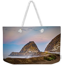 Early Morning At Mugu Rock Weekender Tote Bag