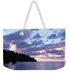 Early Morning At Tettegouche Weekender Tote Bag