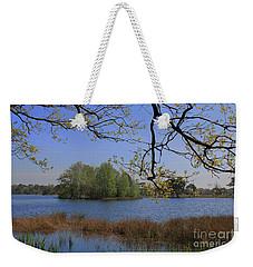 Early Morning At The Lake Weekender Tote Bag