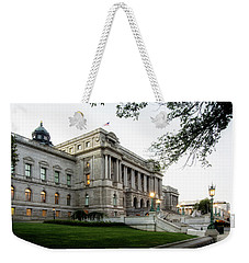Early Morning At The Library Of Congress Weekender Tote Bag