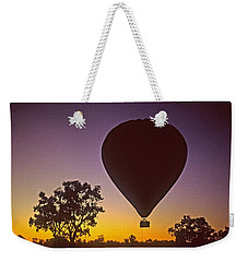 Early Morning Balloon Ride Weekender Tote Bag