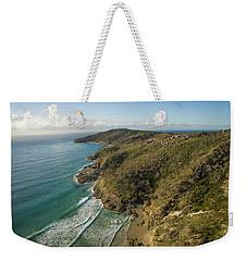 Early Morning Coastal Views On Moreton Island Weekender Tote Bag