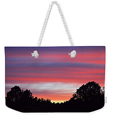 Early Morning Color Weekender Tote Bag