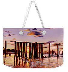 Early Morning Contrasts Weekender Tote Bag