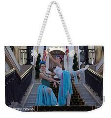 Early Morning Fun Weekender Tote Bag by Judith Desrosiers