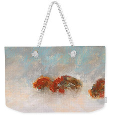 Early Morning Herd Weekender Tote Bag by Frances Marino