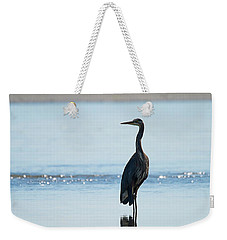 Early Morning Heron Weekender Tote Bag