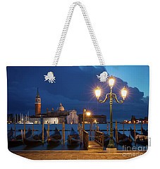 Weekender Tote Bag featuring the photograph Early Morning In Venice by Brian Jannsen