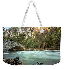 Early Morning On The Merced River Weekender Tote Bag