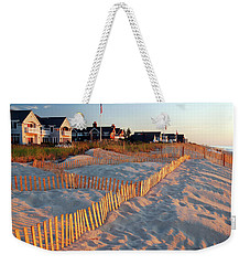 Early Morning On The Shore Weekender Tote Bag