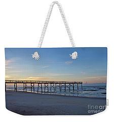 Early Morning Pier Weekender Tote Bag