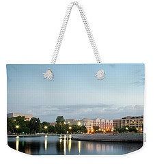 Early Morning Reflection In Washington D.c. Weekender Tote Bag