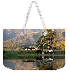 Early Morning Rendezvous Weekender Tote Bag