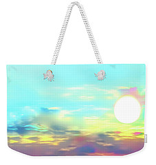 Weekender Tote Bag featuring the photograph Early Morning Rise- by JD Mims