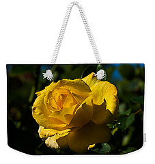 Early Morning Rose Weekender Tote Bag by Kenneth Albin