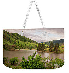 Early Morning Smoothy Waterscape Art By Kaylyn Franks  Weekender Tote Bag