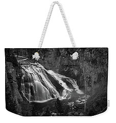 Early Morning Steam Falls Weekender Tote Bag