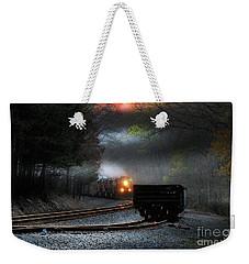 Early Morning Steel Weekender Tote Bag