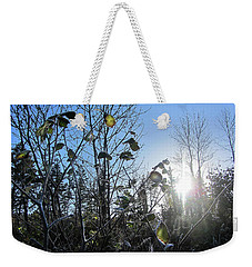 Early Morning Sun Weekender Tote Bag