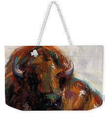 Early Morning Sunrise Weekender Tote Bag by Frances Marino