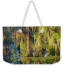 Early Morning Swampscape Weekender Tote Bag