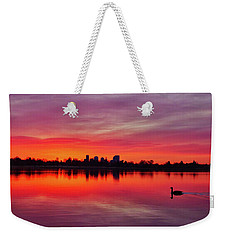 Early Morning Swim Weekender Tote Bag