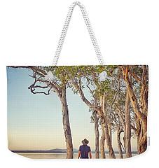 Weekender Tote Bag featuring the photograph Early Morning Tranquility Down By The Lake by Keiran Lusk