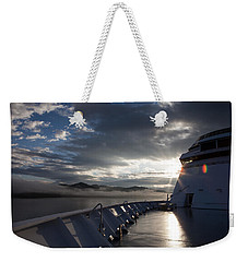Early Morning Travel To Alaska Weekender Tote Bag
