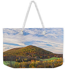 Early Morning Trestle Skies Weekender Tote Bag