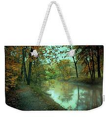 Early Morning Walk Weekender Tote Bag by John Rivera