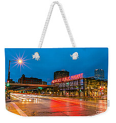 Early Morning Zoom Weekender Tote Bag