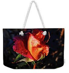 Early Rose Weekender Tote Bag by Mark Blauhoefer
