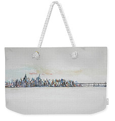 Early Skyline Weekender Tote Bag