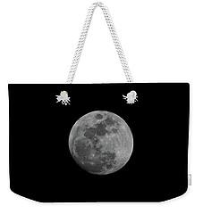 Early Spring Moon 2017 Weekender Tote Bag