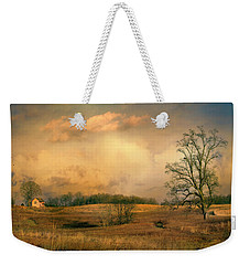 Early Spring Storm Weekender Tote Bag
